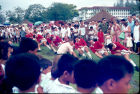 Tug of war on Seletar playing fields